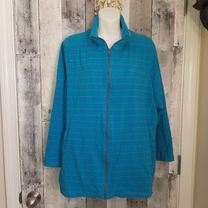 Avenue sports athletic jacket lace inset 22/24